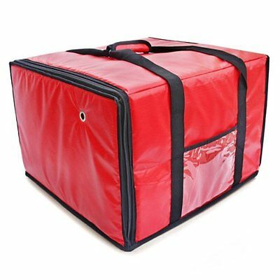 FoodService Essentials IPDB-618R Insulated Pizza Food Delivery Bag 18 x 18 x 13""