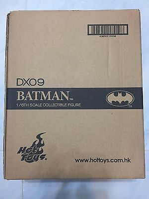 Hot Toys DX09 DX 09 1989 Batman Michael Keaton 12 inch Action Figure SEALED NEW