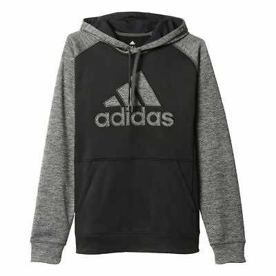 cedb01a6c Mens Adidas Hoodie ClimaWarm Team Issue Hoodie Tall Sizes Fleece Pullover  NEW