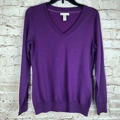 outstanding features 50% price latest collection BANANA REPUBLIC WOMEN Top Extra Fine Merino Wool V Neck ...