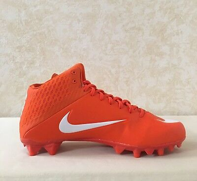 2395e16fa26d NIKE VAPOR SPEED 2 3/4 TD CF Mid Size 12 White Red Football Cleats ...