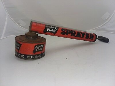 Vintage Black Flag pump Bug Sprayer