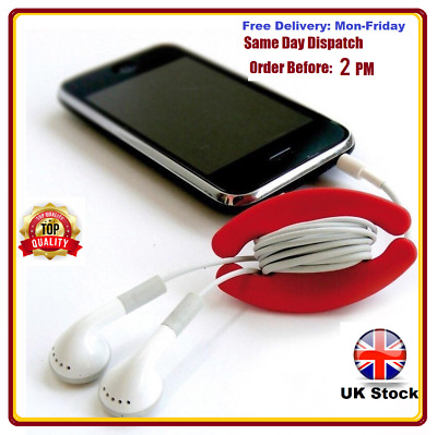 Bobino Cord Wrap, Cable Tidy, for Mains Leads, Earphones & Headphones