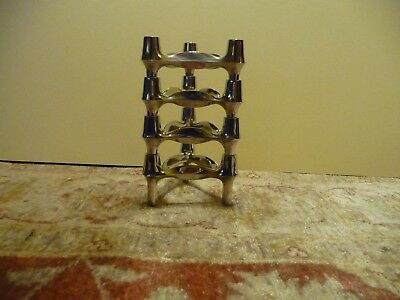 Four Vintage Nagel Quist BMF Candle Holders