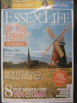 Essex Life magazine September 2018 Andy Day Neil Oliver Southend Paycocke House