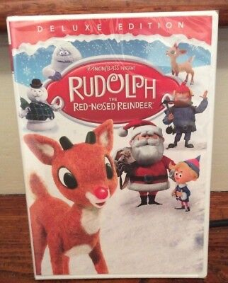 Rudolph the Red-Nosed Reindeer (DVD, 2018, Full Frame, Not Rated) DELUXE Edition