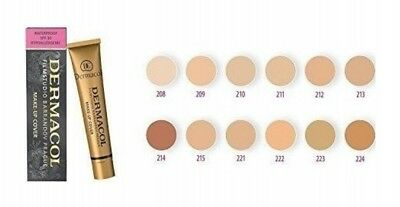 Dermacol High Cover Make-up Foundation Waterproof SPF-30
