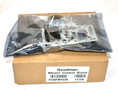 Goodman PCBFM103S Replacement Blower Control Board (Replaces PCBFM131S) New