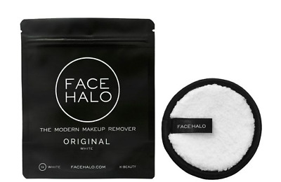 FACE HALO Make Up Remover Pads Original White – Single Pack