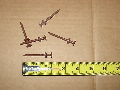 """2"""" 6d Ring Dark Brown Siding Nails - 6 POUNDS FREE SHIPPING!!"""