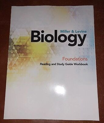 Miller & Levine Biology Workbook 2019 Student Edition Softcover New Pearson