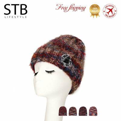 d57ba8583e2 Hot Unisex Womens Mens Knit Baggy Beanie Beret Hat Winter Warm Oversized  Ski Cap