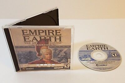 Empire Earth: The Art of Conquest (PC, 2002) windows expansion pack addon