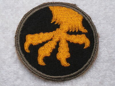 Ww Ii Us Army 17Th Airborne Division 100% Original & Authentic Total Mint Patch