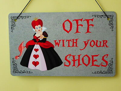 /'IF EVERYONE MINDED THEIR OWN/'...... ALICE IN WONDERLAND A5 METAL PLAQUE