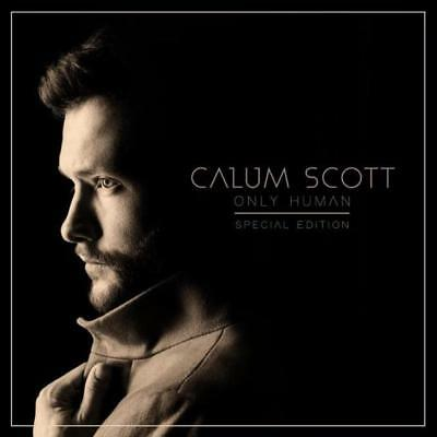 CALUM SCOTT - Only Human Special Edition CD *NEW* 2018