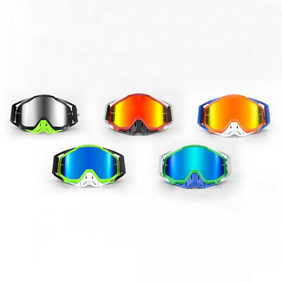 New Riding Outdoor Goggles -ALL COLORS-Offroad MX Motocross-CLEAR OR MIRROR LENS