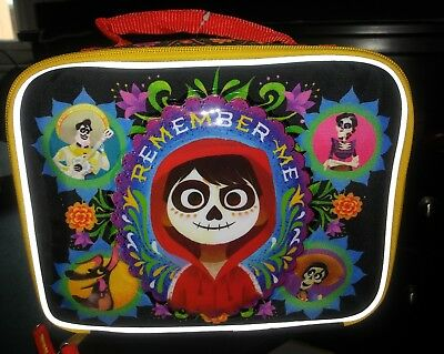 Coco Lunch Box Soft Kit Insulated Cooler Bag Disney Remember Me