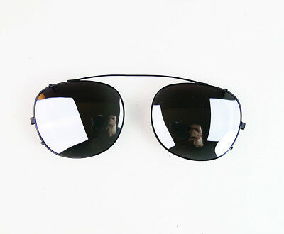 72bd504ce55a3 MIRROR LENS CLIP ONS for MOSCOT LEMTOSH 46 sunglasses James Dean Johnny  Depp on