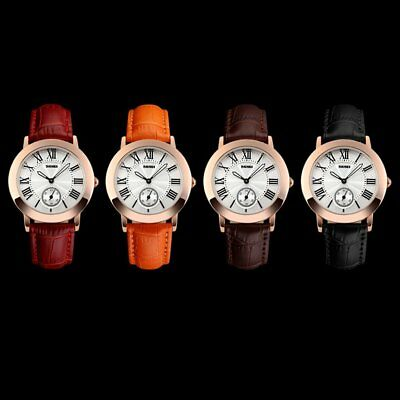 SKMEI 1083 Full Automatic Mechanical Movement Vintage Waterproof Women Watch FK
