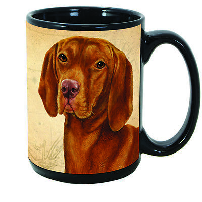Vizsla Faithful Friends Dog Breed 15oz Coffee Mug Cup