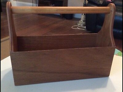 Brand New Hand-Crafted Wooden Utilities Box