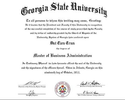 """Upgrade Size to OVERSIZE (Up to 14""""x17"""" or A3) for Fake Degree, Diploma ADD ON"""