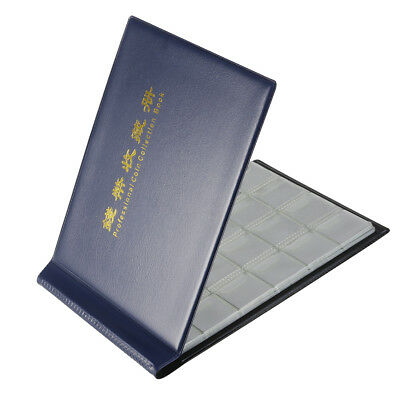 AU 240 Coin Holder Collection Storage Collecting Money Penny Pockets Album Book