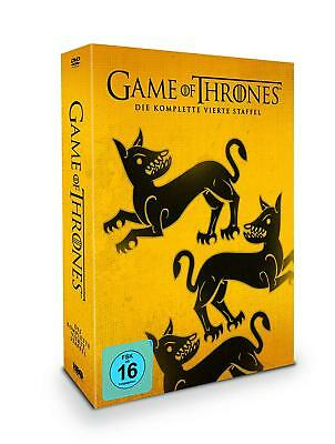 Game of Thrones - Staffel 4 - Limited Edition 5 DVD's + Bonus Disk, Di(NEU/OVP)