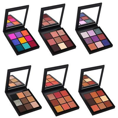 Pro Matte Eyeshadow Palette Shimmer Makeup Glitter Smoky Eye Shadow Powder Set