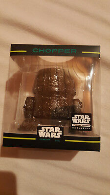 Funko - Hikari Minis - Star Wars Smugglers Bounty Exclusive - Black Chopper