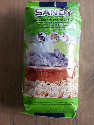 Sable minéral pour Chinchillas Vitakraft Sandy 1kg