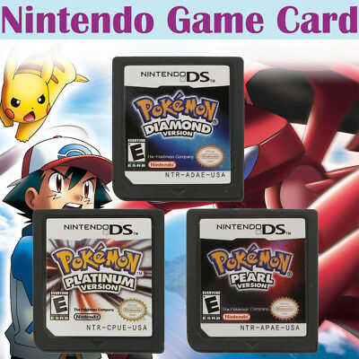 Pokemon Diamond Platinum Pearl Game Card For Nintendo 3DS NDSI NDSLL NDS Lite