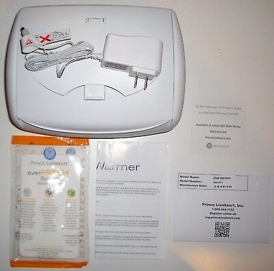 """""""prince Lionheart"""" Ultimate Wipes Warmer Anti-Microbial,non-Browning Brand-New"""