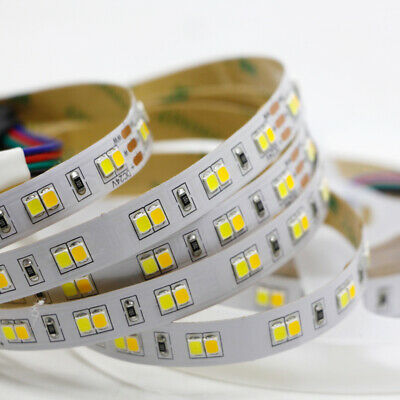 5M Dual White Color Temperature Dimmable LED Strip light CCT 2835 5050 string DC