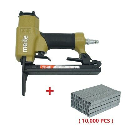 7116BL Upholstery Stapler 22 Gauge 3/8'' Crown long nose stapler air staples gun