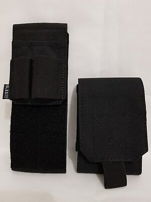 5.11 Tactical Light Writing Sleeve Unisex Pouch Organiser + Molle Phone Pouch