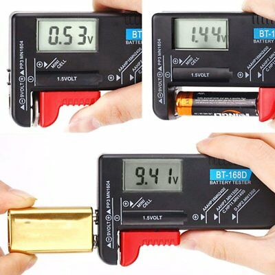 Digital Battery Tester Storage Organizer Case Batteries Storage Box AAA/AA/9V EL