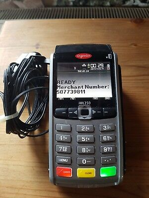 Ingenico Iwl250 Credit Card Pdq  Machine Point Of Sale Terminal Power Supply