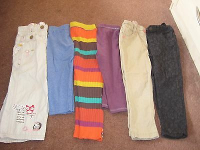 Bundle Girls Trousers, Jeans, Leggings, Age 2-3 NEXT
