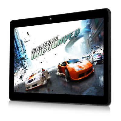 10,1 Zoll Tablet PC Android Quad Core 4+64GB Dual Card & Camera HD WIFI Phablet