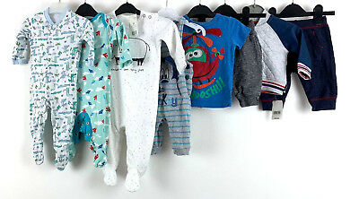 Baby Boys Clothes Bundle 3-6 Months Sleepsuits Pants Jumper Dungaree Next