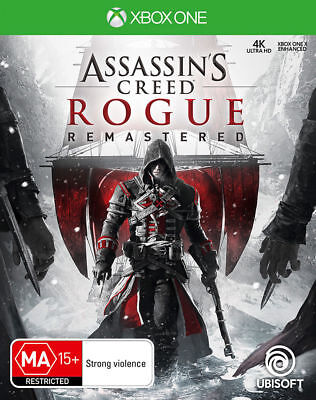 Assassins Creed Rogue Remastered Xbox One Brand New Game
