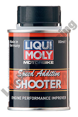 Liqui-Moly Motorcycle Speed additive engine performance improver 80ml shooter