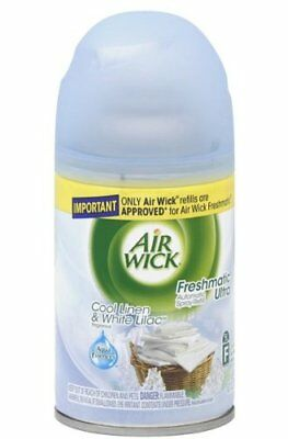 Air Wick Freshmatic Crisp Linen & Lilac Auto Spray Air Freshener 250 ML Pack (4)