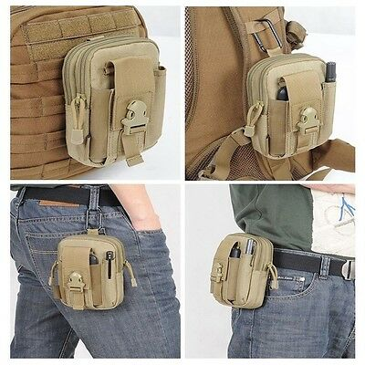 Outdoor Tactical Waist Belt Pack Bag Wallet Sports Camping Hiking Pouch 0W1