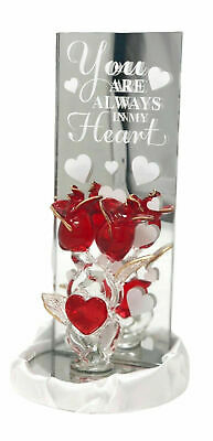 Always in My Heart Red Rose Valentine's Day Love Gift to Mother's Day Present