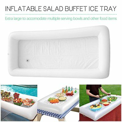 Inflatable Picnic Drink Table Serving Bar Salad Buffet Cooler Party Camping W0