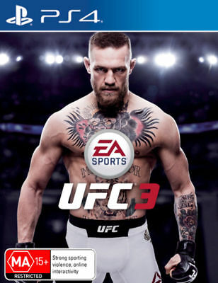 UFC 3 PlayStation 4 PS4 Brand New Game
