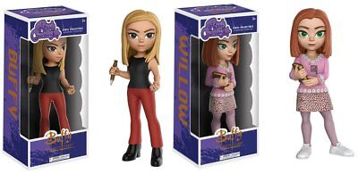 Figurines Funko Rock Candy Buffy The Vampire Slayer Buffy + Willow les 2 boîtes